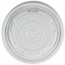 Lids for Eco-Friendly Soup Containers 12oz & 16oz