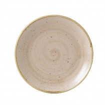 Churchill Stonecast Nutmeg Cream Coupe Plate 16.5cm