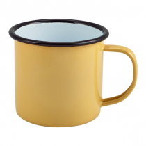 Enamel Mug Yellow 36cl 12.5oz