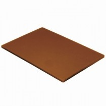 Colour Coded Chopping Board 1/2inch Brown - Vegetables