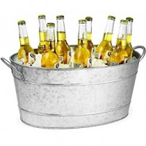 Galvanised Steel Oval Beverage Tub