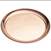 Genware Round Copper Tray 12inch