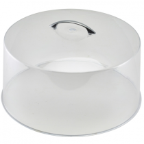 Polystyrene Clear Cake Cover 30.5 x 16.5cm