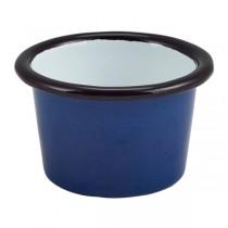 Enamel Ramekin Blue 7 x 4.3cm