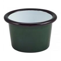 Enamel Ramekin Green 7 x 4.3cm