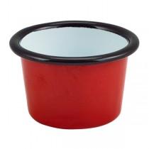 Enamel Ramekin Red 7 x 4.3cm