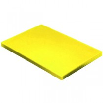 Colour Coded Chopping Board 1inch Yellow - Cooked Meat