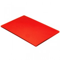 Colour Coded Chopping Board 1/2inch Red - Raw Meat