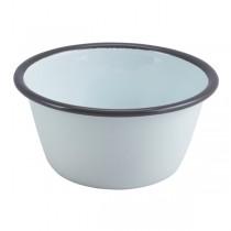 Enamel Round Deep Pie Dish 12 x 6cm