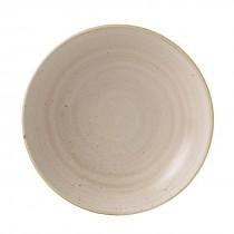 Churchill Stonecast Nutmeg Cream Coupe Bowl 24.8cm