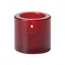 Red Round Votive Candle Holders