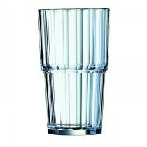 Norvege Stacking Tumbler Glass 11.25oz
