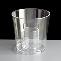 DISPOSABLE BOMB SHOT GLASSES CE 3OZ / 85ML CE AT 25ML