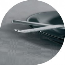 Dispotex Metallic Silver Banquet Roll 45gsm 8m