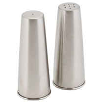 Conical Condiment Set Stainless Steel