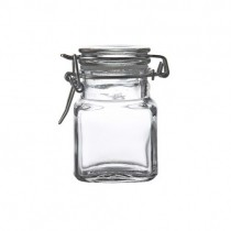 Square Clip Top Jar 11cl / 3.75oz