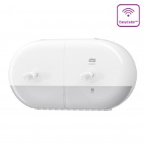 Tork SmartOne® Elevation Twin Mini Toilet Roll Dispenser White