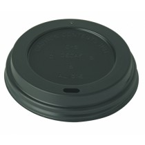 Black Domed Sip Lids To Fit Ultimate Hot Cups