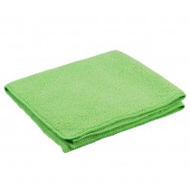 Optima General Purpose Microfibre Cloths Green