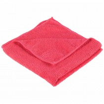 Optima General Purpose Microfibre Cloths Red