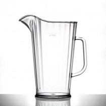 Elite Plastic Polycarbonate Jug LCE Stamped @ 4 Pint