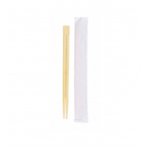 Biodegradable Disposable Individually Wrapped Bamboo Chopsticks