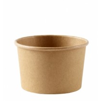 Disposable Kraft Heavy Duty Soup Container 8oz / 250ml