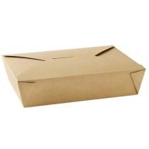 No 2 Kraft Leak-Proof Food Carton 51oz