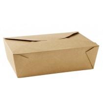 No 3 Kraft Leak-Proof Food Cartons 69oz