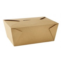 No 4 Kraft Leak-Proof Food Carton 98oz