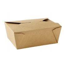 No 8 Kraft Leak-Proof Food Carton 46oz