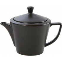 Porcelite Seasons Graphite Conic Teapot 18oz / 50cl