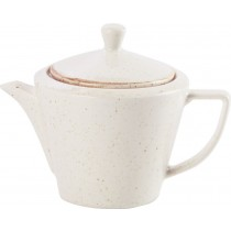 Porcelite Seasons Oatmeal Conic Teapot 18oz / 50cl
