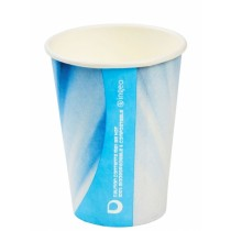 Compostable Tall PLA Prism Paper Vending Cup 7oz / 210ml