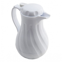 Insulated Beverage Server White 40oz 1.2 Ltr