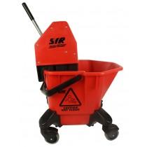Combi Bucket & Wringer 20ltr Red