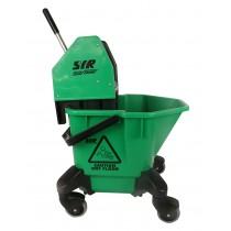 Combi Bucket & Wringer 20ltr Green