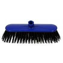 SYR Interchange Traditional Hard Broom Head Blue