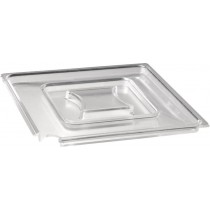 APS Float Clear Square Bowl Cover 25cm