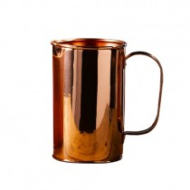 Copper Water Pitcher with Handle 1.9L/64oz