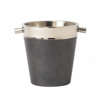 Artis Powder Coated Champagne Bucket Grey 26 x 20 x 22cm