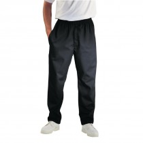 Chef Works Unisex Easyfit Chefs Trousers Black