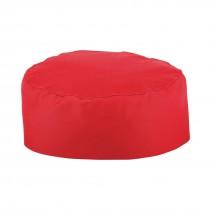 Chefs Skull Cap Red