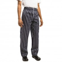 Chef Works Unisex Easyfit Chefs Trousers Butchers Stripe