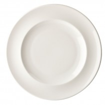 Porland Academy Classic White Rimmed Plates 26.5cm
