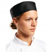Whites Chef Skull Cap Black