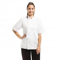 Whites Vegas Chefs Jacket Short Sleeve White