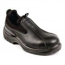 Lites Cushioned Slip On Shoes Black