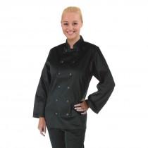 Whites Long Sleeve Black Vegas Chefs Jacket