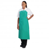 Heavy Duty Waterproof Bib Apron Green